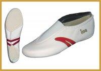 IWA Kunstturn-Schuh mit rotem Streifen