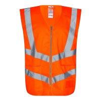 Safety Verkehrsweste m/Taschen