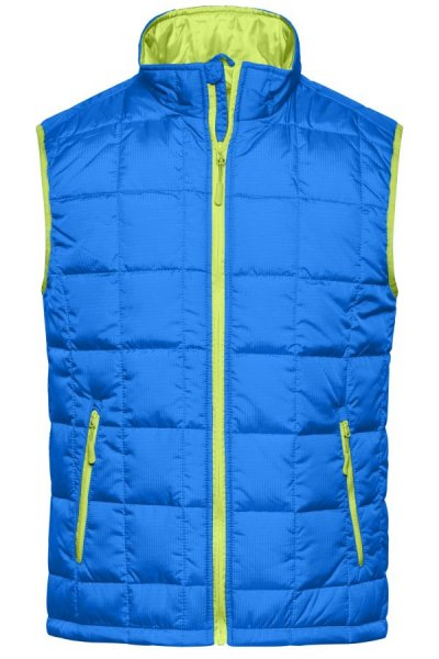 Mens Padded Light Weight Vest, Steppweste mit wärmender Thinsulate™3M-Wattierung
