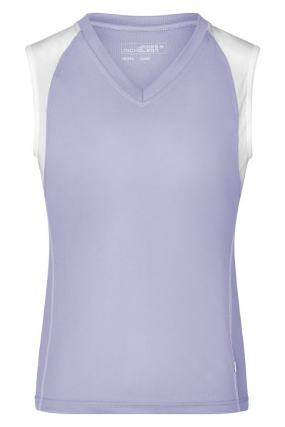 Ladies Running Tank, Atmungsaktives Running Top