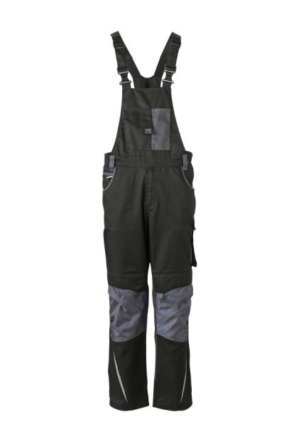 Workwear Pants with Bib - STRONG -, Spezialisierte Latzhose mit funktionellen Details